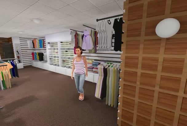 do interior design or rendering of your shop, house or apartment