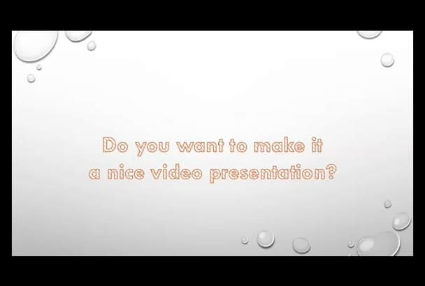 convert POWERPOINT to video and sync voice over