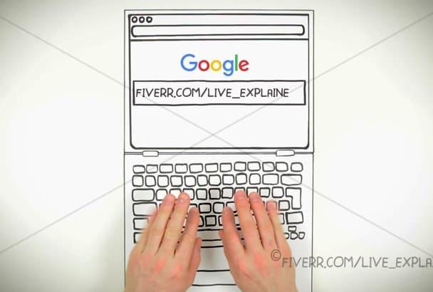 make unique Google search and promo video