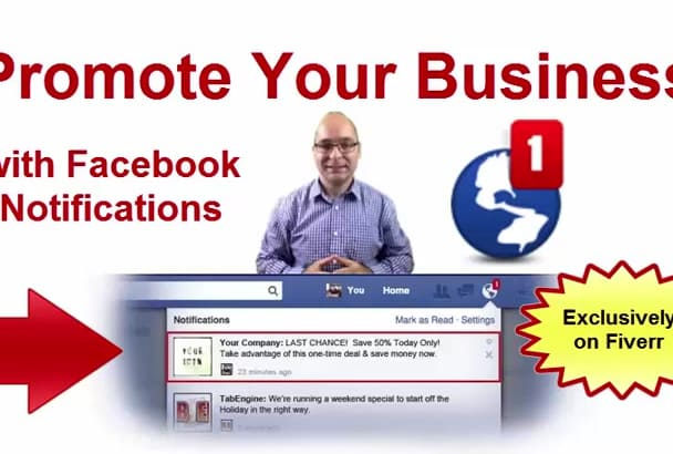 create a Facebook Notifications APP
