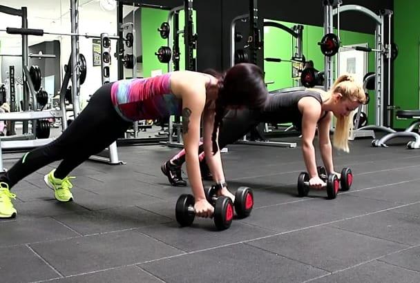 create Girls Fitness HD Video female workout