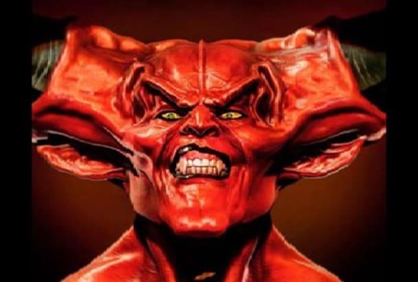 voice your script as the Devil