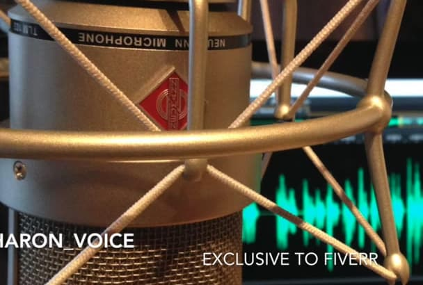 record a superb UK English female voice over for you