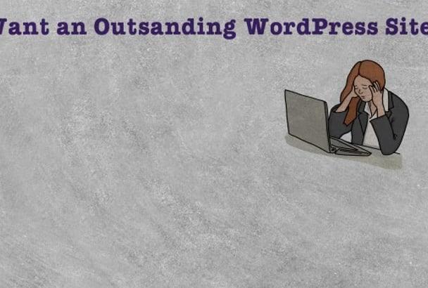 design your dream WordPress