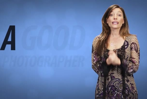 create an amazing photographer commercial