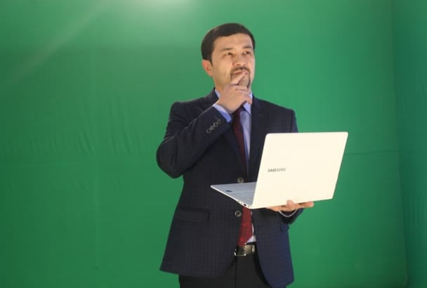 do Chromakey to your Photograph Green Blue Screen Editing