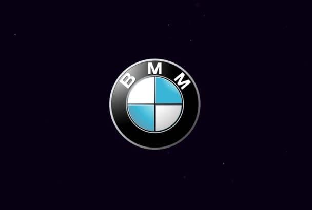 do animated BUSINESS logo intro