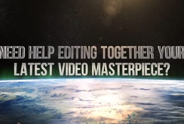 professionally edit your video or presentation