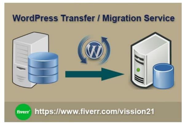 migrate or transfer your wordpress website quickly