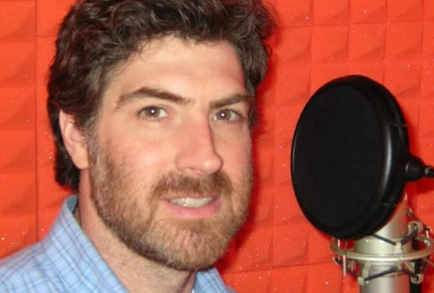 record an American male voice over narration
