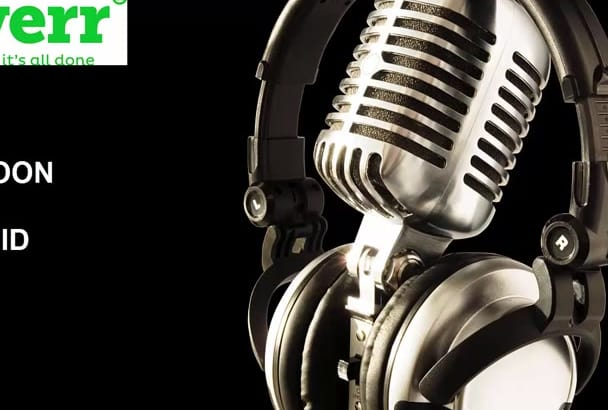 record any voice over in 24 Hours