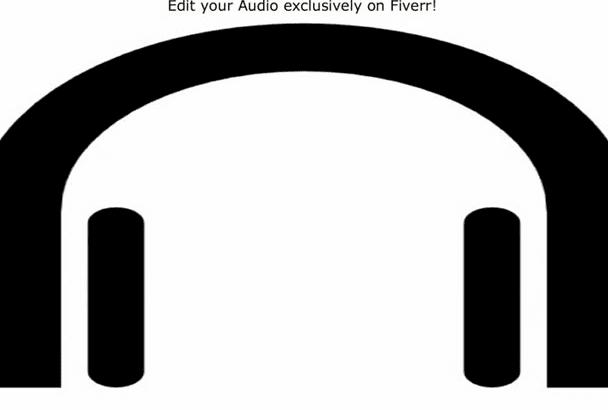edit your audio file
