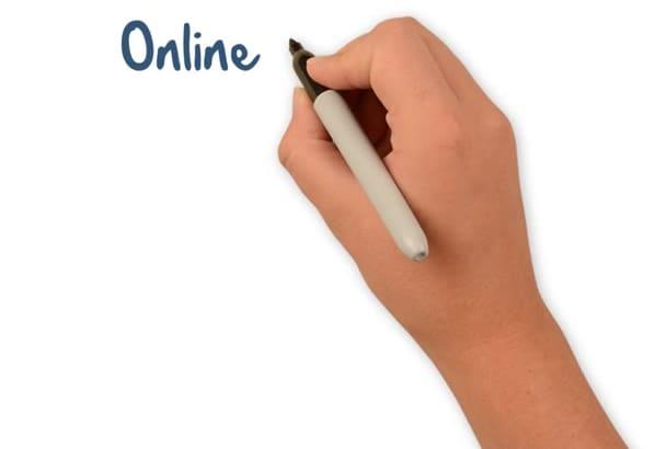 create an eye catching Whiteboard Animation videoscribe