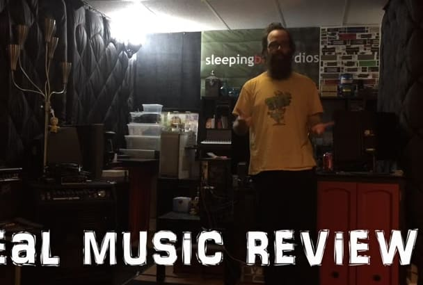 review your music and publish on sleepingbagstudios music site