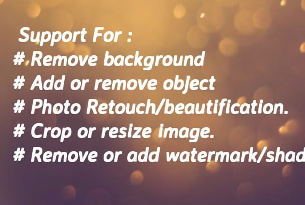 remove Background of 10 photos in 3 hours