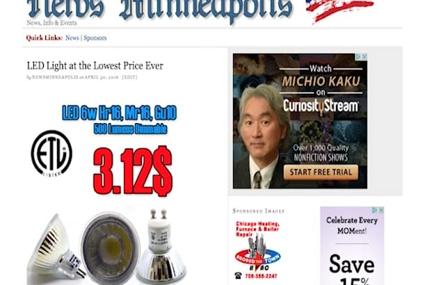 post on my Minneapolis News Blog