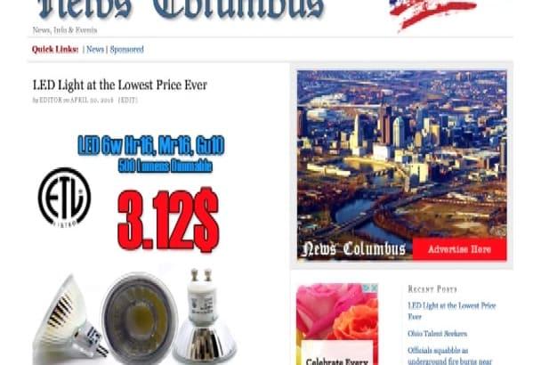 post on my Columbus News Blog