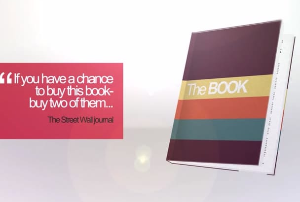 promote your book with 30 sec trailer video