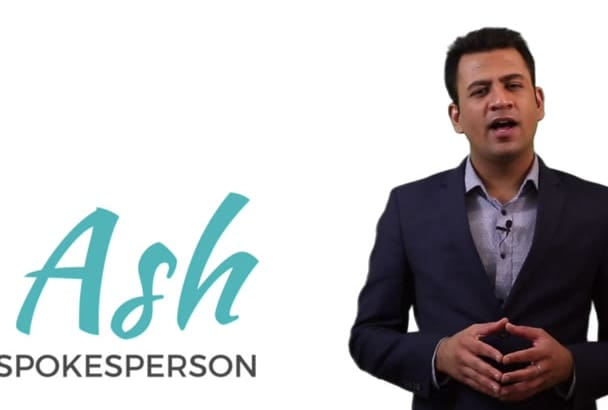 be your spokesperson with global accent