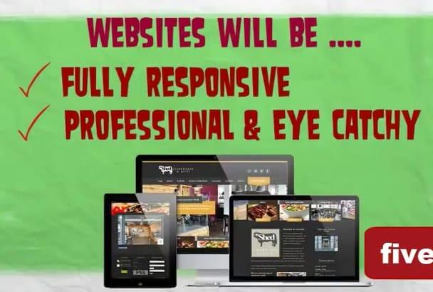 create Professional WordPress BUSINESS website