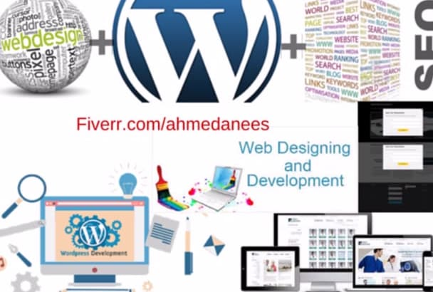 develop and Design Website according to Demand