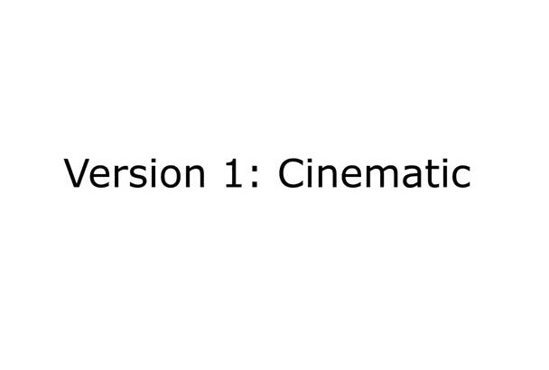 make this cinematic 3D logo intro