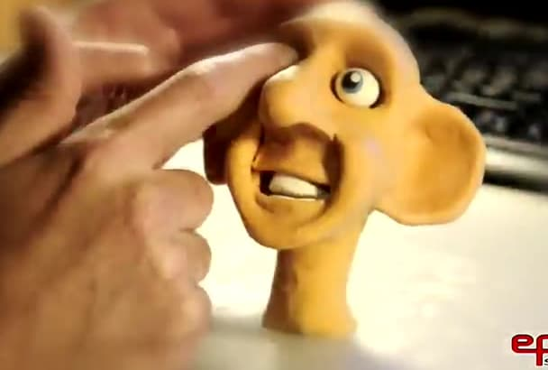 produce custom stopmotion claymation animated movie