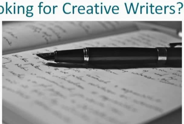write creative and unique content