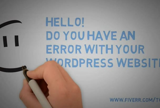 fix WordPress Issues quickly
