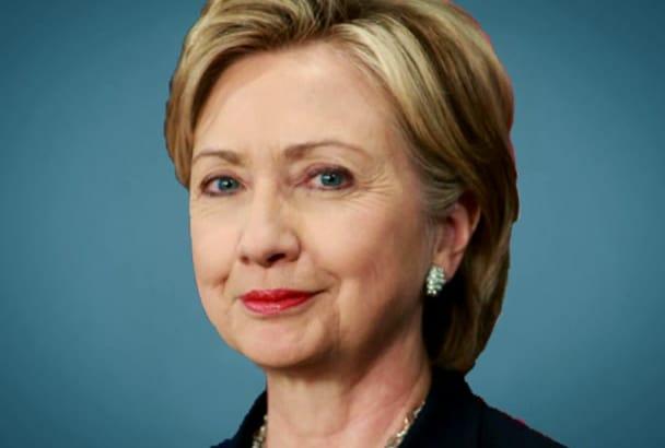 be , Hillary Clinton,your Spokesperson