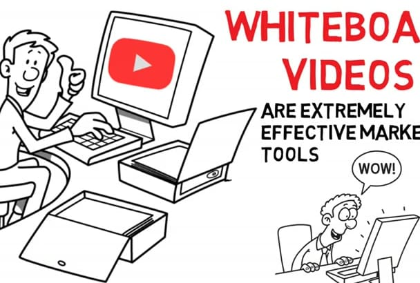 create a Professional Whiteboard Animation Lowest Prices