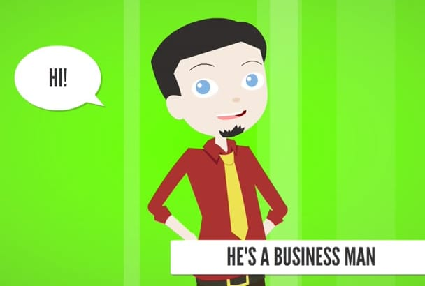 do an animated Brand video for marketing product or business