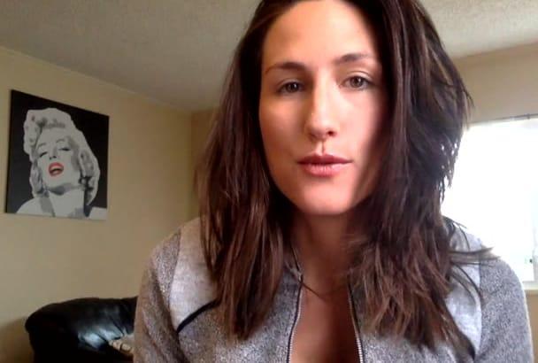 create a natural testimonial video
