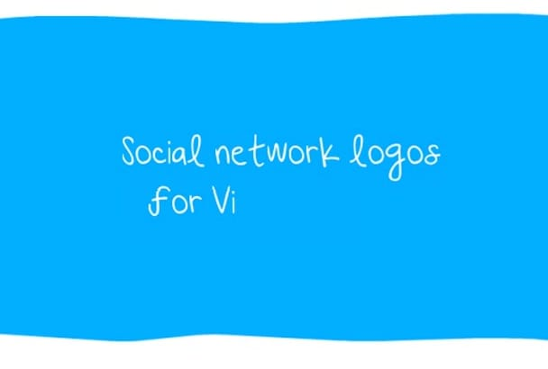 provide the Social Netwok images for VideoScribe