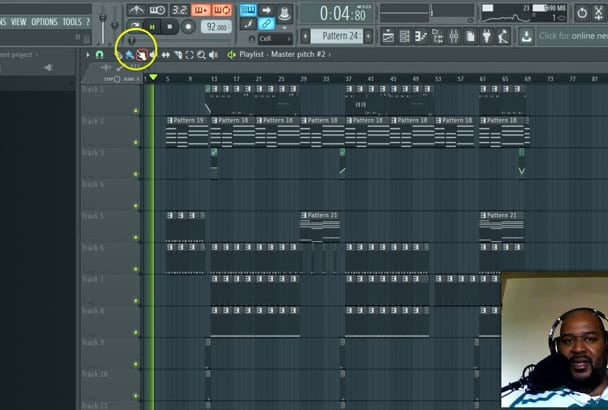 do A Rap BEAT Making Session In fl Studio