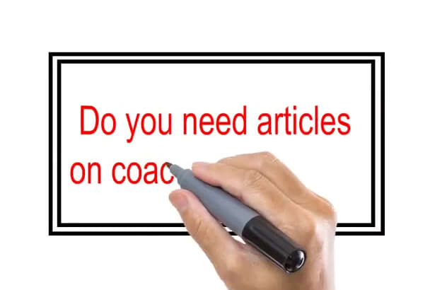 give more than 185 plr articles on the coaching topic