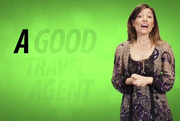 make Stunning Travel Agent Promo Video With 10 Actors
