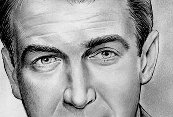 voice your radio or TV commercial or other audio as Jimmy Stewart
