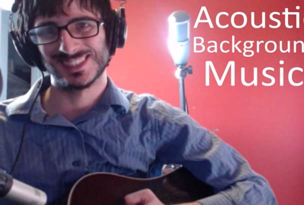 record acoustic background music
