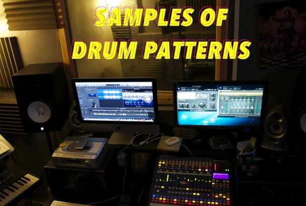 add a Drum pattern to your Melody or Music