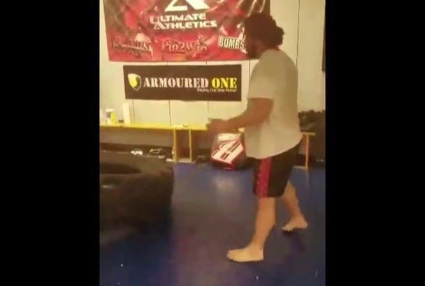 create a custom MMA specific workout