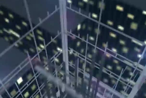 make CONSTRUCTION skyscraper intro video