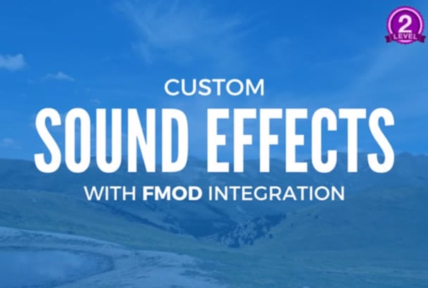make custom game sound effects with Fmod integration