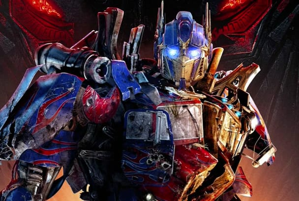 record an epic Optimus Prime Voice Over