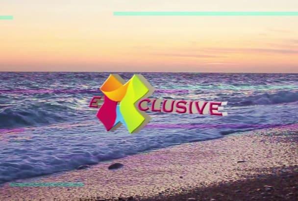 make Amazing Diverse logo video intro