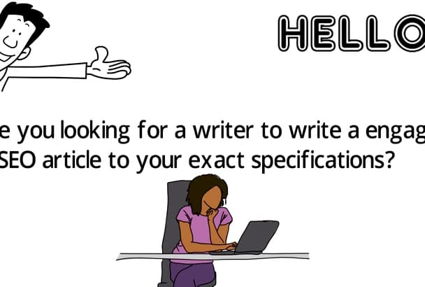 write a engaging SEO article to your exact specifications