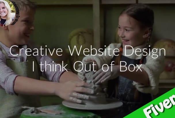 creative And Stunning WordPress Website Designs