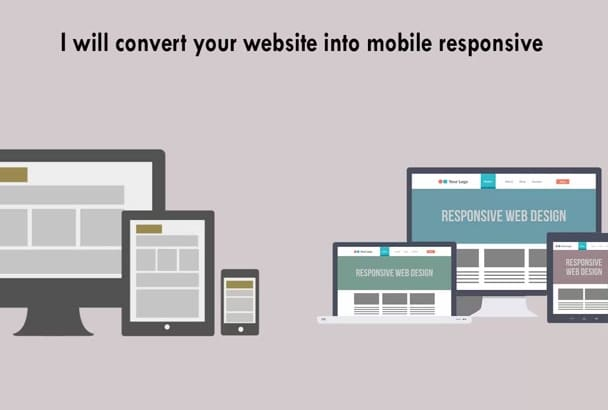 convert your static site into mobile responsive