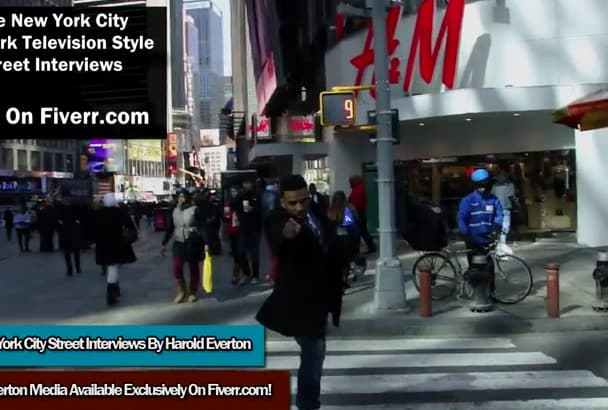 do a NYC Street Interview