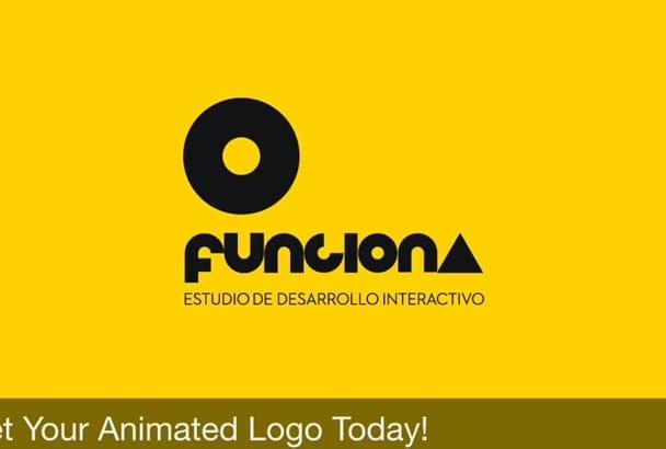 do a SENSATIONAL custom Logo Animation